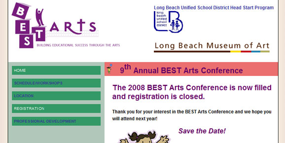 BEST Arts Conference, 2008