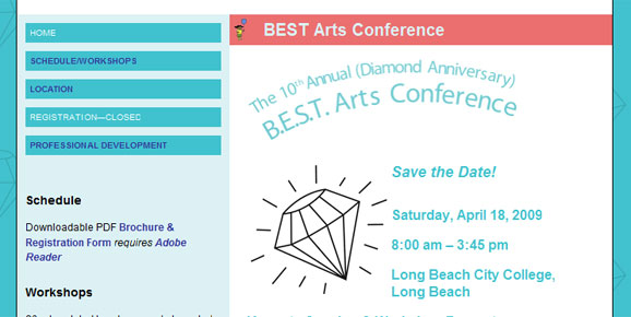 BEST Arts Conference, 2009