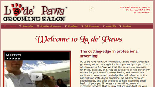 La de' Paws Grooming Salon & Pet Boutique